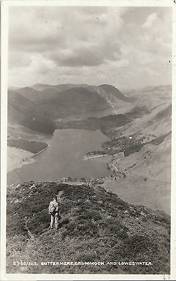 Crummockwater, Loweswater, BUTTERMERE, Cumberland RP