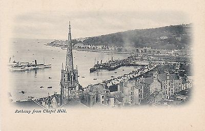 Early View From Chapel Hill, ROTHESAY, Isle Of Bute