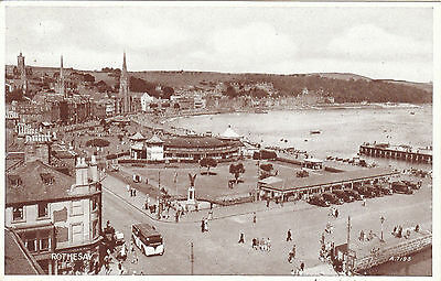 General View Along The Front, ROTHESAY, Isle Of Bute