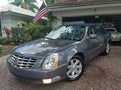 2007 Cadillac DTS NAVY BLUE CONVERTIBLE TYPE TOP! 2007 CADILLAC DTS LUXURY SEDAN FROM FLORIDA! LOW MILES LIKE NEW! PRICED TO SELL!