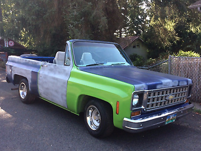 1973 Chevrolet Blazer  1973 Chevy K5 Blazer 2WD C10 Not Bagged No Air Rid Lowrider Full Convertible