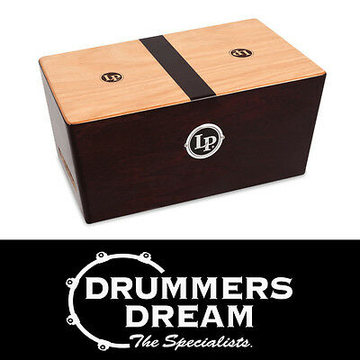 LP Latin Percussion Peruvian Solid Walnut String Bongo Cajon LP1429