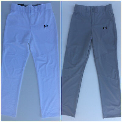 f552615232f246 Men's UNDER ARMOUR UA Leadoff BASEBALL Pants TRAINING Loose Fit Size S-XXL