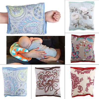 Breastfeeding Pillow Cotton Washable Baby Nursing Arm Pillow Noontime Snooze Mat