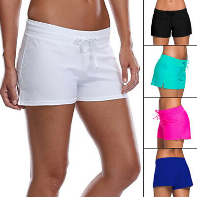 Women Swim Pants Ladies Swimming Bottom Surfing Board Shorts Athletic Sportswear