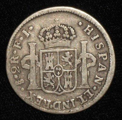 1812, 2 Reales from Chile.  No Reserve!