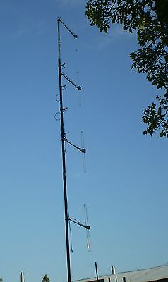 Folded dipole array antenna for repeater use 150-162 Mhz marine commercial
