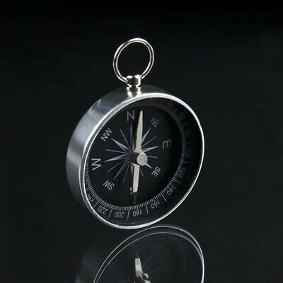 Pocket Compass - HIKING - SCOUTS - CAMPING - WALKING - SURVIVAL AID - GUIDES-UK