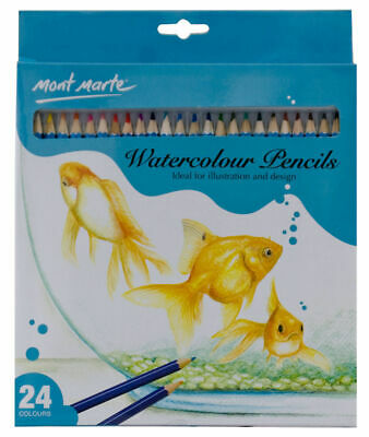 Mont Marte Watercolour Pencils 24pc