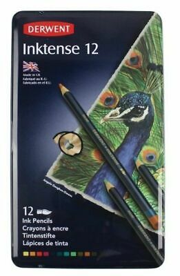 Derwent Inktense Pencil Tin Of 12
