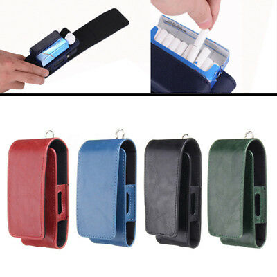 Electronic Cigarette Kit Leather Pouch Bag Case Box Holder Storage For IQOS
