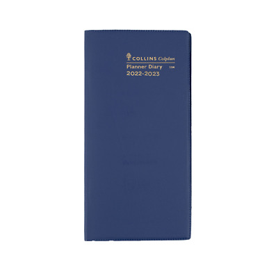 COLPLAN 2020 2021 2 Year Planner Diary B6/7 Month to View Pocket Slim MTV BLUE