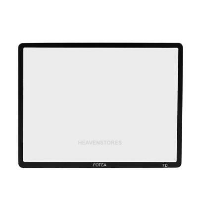 Fotga Hard Optical Glass LCD Screen Protector Guard For Canon EOS 7D Camera hv2n