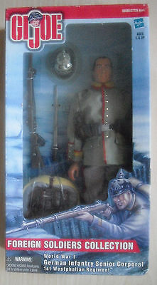 GI Joe - World War I German Infantry Senior Corporal 1st Westphalian Regiment