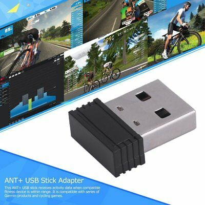 Mini Dongle USB Stick Adapter For ANT+ Portable Carry For Garmin 310XT 405 E1