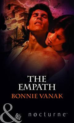 """""""AS NEW"""" The Empath (Mills & Boon Nocturne), Vanak, Bonnie, Book"""
