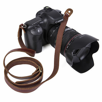 Quality Leather Camera Shoulder Neck Strap Lengthened Strap For Canon Nikon Sony