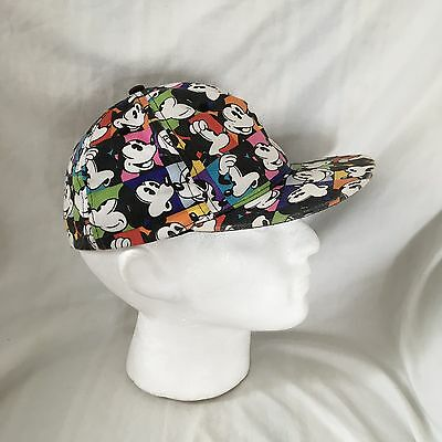 Disneyland Paris Mickey Mouse Adult Size 57 cm Baseball Cap, Stretch Fit