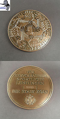 # Medal for excellent sporty Services 1980 City Cologne #