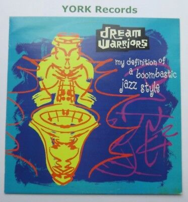 "DREAM WARRIORS - My Definition Of Boombastic Jazz Style - Ex Con 12"" Single"
