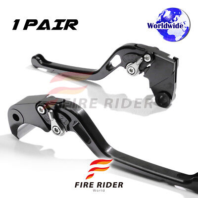 For Yamaha Majesty YP 400 04-08 07 LBT CNC GP Long Front Rear Brake Levers Set