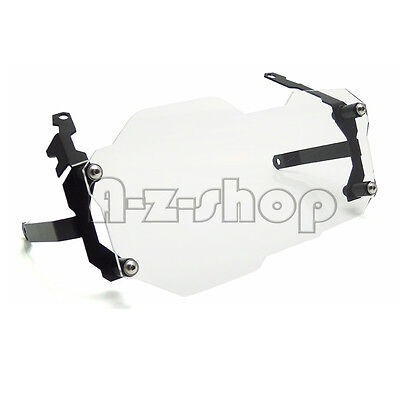 Clear Headlight Guard Cover Lens Protector For 13-16 BMW R1200GS Adventure ADV