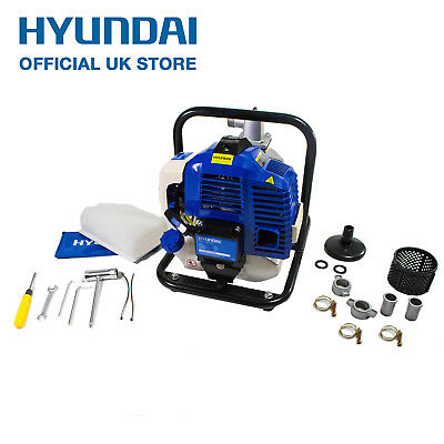 "Hyundai 50.8cc 1"" 25mm Petrol Water Pump Lightweight Portable 25mm HY25-2"