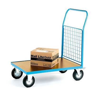 Heavy Duty Platform Truck With Mesh End - 500kg Warehouse Picking Trolley