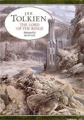 Rare 1991 The Lord of the Rings  JRR Tolkien Illustrated by Alan Lee Hardcover