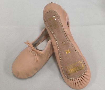 Leather NARROW Ballet Shoes, SIZES 5.5 - 7.5, GIRLS Pink FREED LADIES RAD Dance