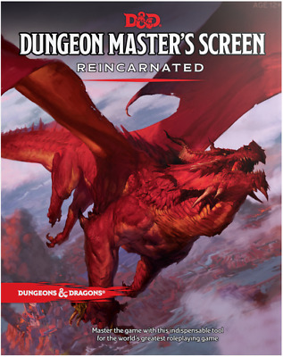 D&D Dungeons & Dragons - Dungeon Master's Screen Reincarnated [New & Sealed]