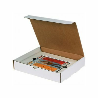 Box Packaging White DVD/Literature Mailer, 50/bundle