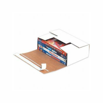 "Box Packaging White Self-Seal DVD Mailer, 7.68"" x 5-7/16"" x 2-7/16"" 200/bundle"