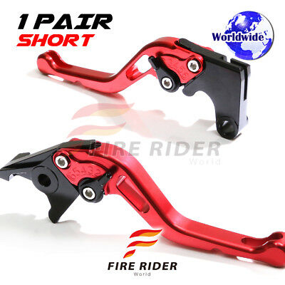 For Yamaha TMAX 500 08 09 10 11 12 SRB CNC GP Short Front Rear Brake Levers Set