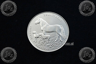 LITHUANIA 1,5 EURO 2017 (HOUND & HORSE) Commorative Coin * UNCIRCULATED - NEW