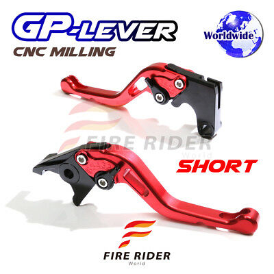 For Yamaha TMAX 530 XP500 15 16 SRB CNC GP Short Front Rear Brake Levers Set