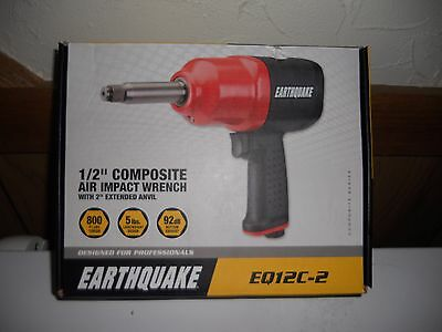 EARTHQUAKE 1/2 in. Heavy Duty Composite Air Impact Wrench with 2 in. Anvil 63385