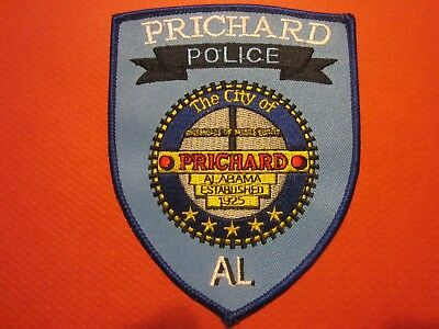 Collectible Alabama Police Patch,Prichard, New