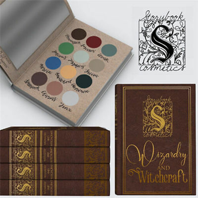 Harry Potter Makeup Cosmetics Wizardry Witchcraft Eyeshadow Palette 12 Colors UK