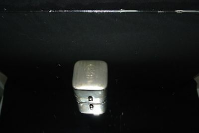 "Vintage Ring Box ""RARE"" Nickel"