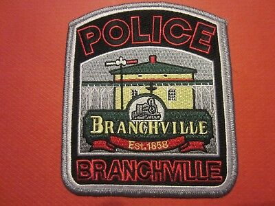 Collectible South Carolina Police Patch, Branchville, New