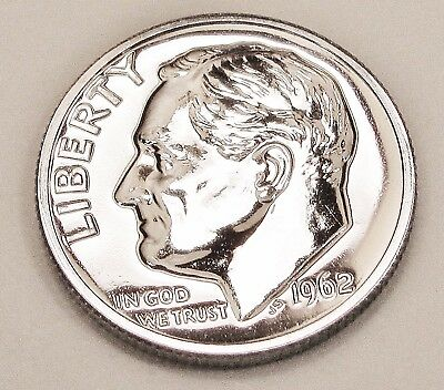 1962  Proof   Dime  90%  Silver  >Exact  Coin  Pictured <    #922     13