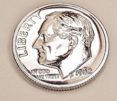 1962  Proof   Dime  90%  Silver  >Exact  Coin  Pictured <    #922     14