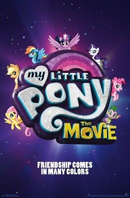 UNDERWATER MOVIE POSTER 22x34-15352 MY LITTLE PONY
