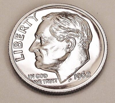 1962  Proof   Dime  90%  Silver  >Exact  Coin  Pictured <    #922     15