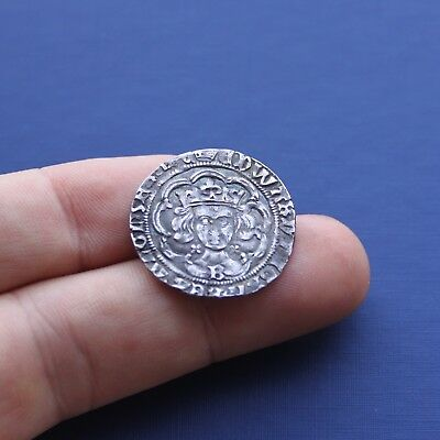 Hammered Silver Coin Edward 4th Groat Bristol Mint C 1461 AD
