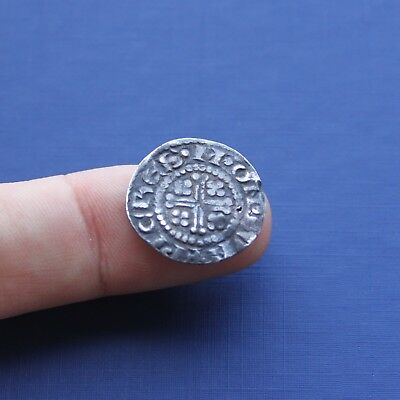 Hammered Silver Coin Henry 2nd Short Cross Penny c 1180 AD