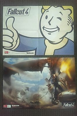 EXCLUSIVE Fallout 4 Double Sided Poster 53cm x 36.5cm