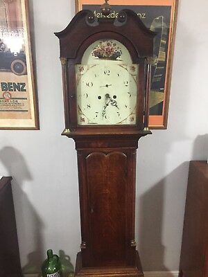 Long Case Clock, Grandfather Clock, Oak, Circa 1800