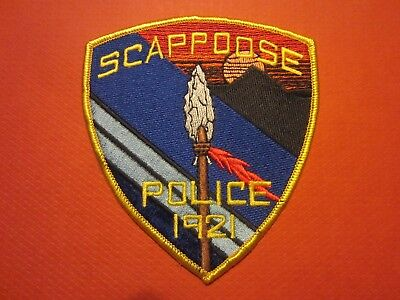 Collectible Oregon Police Patch, Scappoose, New